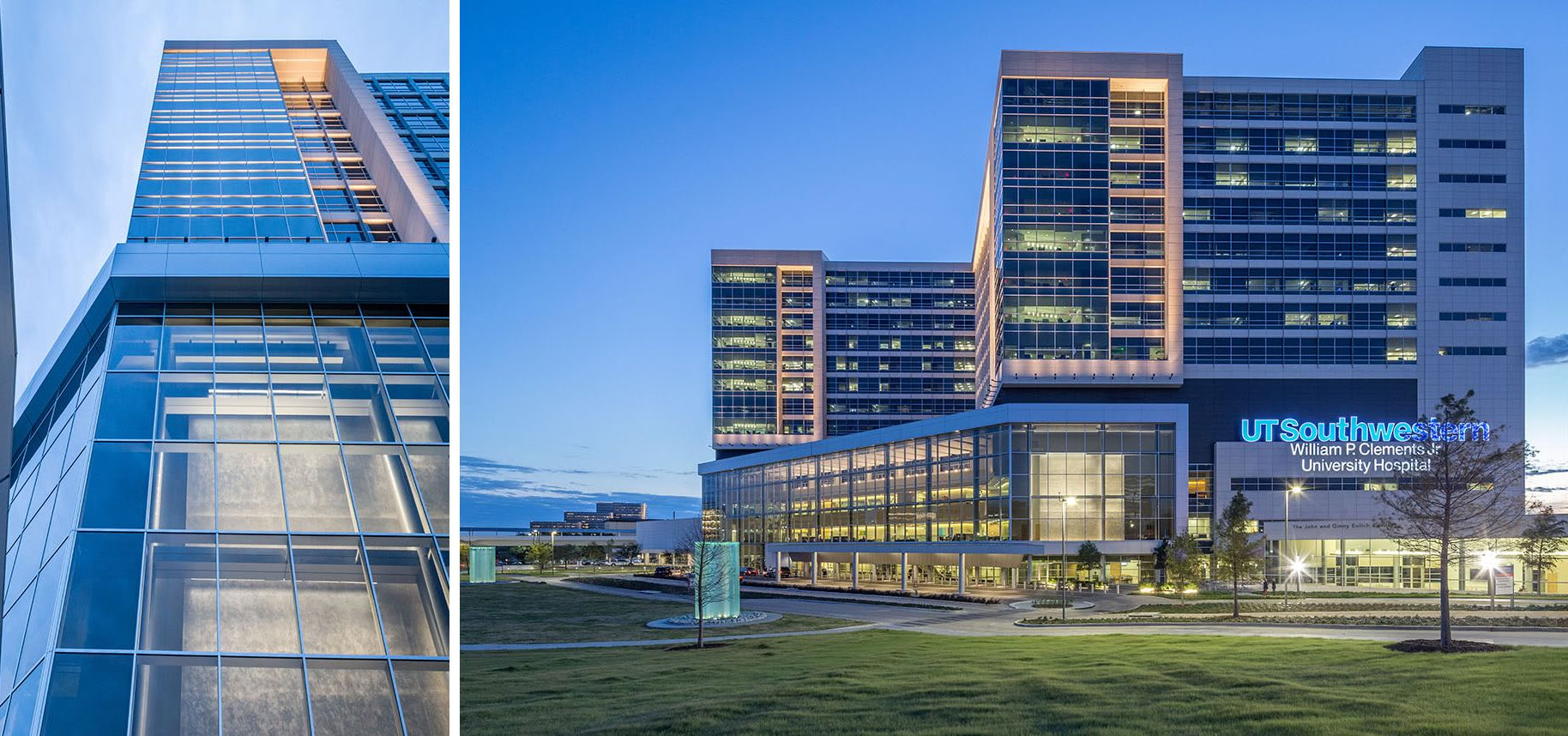 William P. Clements Jr. University Hospital at UT Southwestern Medical Center at Dallas