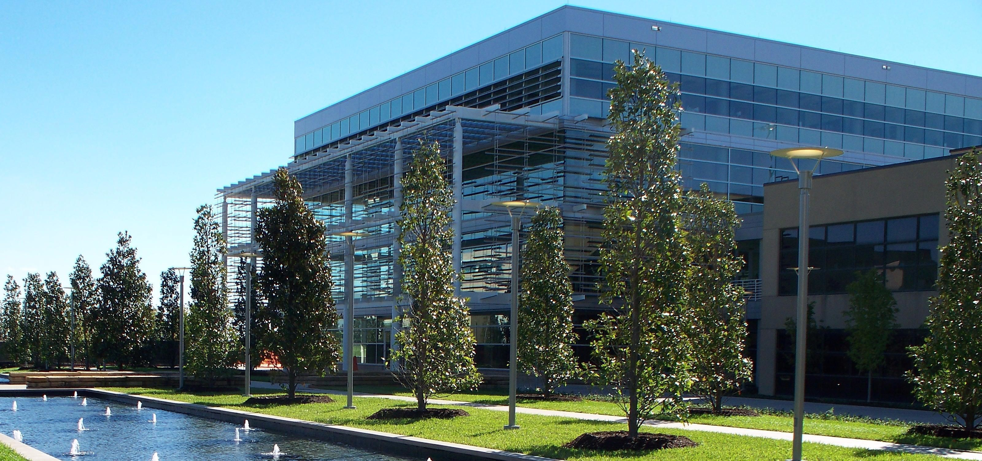 74,000-square-foot Student Services Building - the first academic structure in Texas to be rated a LEED Platinum facility by the United States Green Building Council.